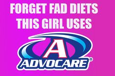 Forget fad diets - this girl uses AdvoCare! Advocare.com/130229263
