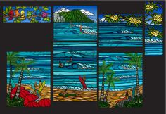 Hawaii Artist Heather Brown 2012 Greenroom Festival Original Art