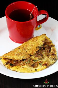 Egg recipes - Collection of 52 anda recipes - Swasthi's Recipes Breakfast Dishes, Healthy Breakfast Recipes, Healthy Recipes, Indian Breakfast, Spaghetti Recipes, Pasta Recipes, Cooking Recipes, Curry Recipes, Vegetarian Recipes
