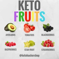 KETO FRUITS Fruits on keto? Yes the keto diet does limit carbs, but that doesn't mean that there aren't any low carb fruit options! Here is by ketohackershop Ketogenic Recipes, Keto Recipes, Cetogenic Diet, Diet Meals, Comida Keto, Keto Fruit, Keto Shopping List, Keto Food List, Keto Diet For Beginners