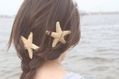 Fresh Style from Under the Sea - Lovely beach wedding hair idea