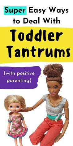 Toddler tantrums don't have to be as difficult as you think. There are real effective ways you can deal with your toddler's tantrums and meltdowns by using positive parenting/gentle parenting to make it way, way easier. Toddler Behavior, Toddler Discipline, Terrible Twos, Gentle Parenting, Calm Down, Parents, Positivity, Teaching, Children