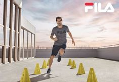 Fila Training S/S 2018 (Various Campaigns) Fitness Design, Jogging, Campaign, It Cast, Training, Model, Shell, Sport, Frame