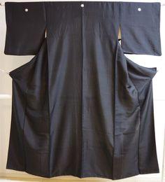 Kimono Dress Japan Geisha costume used Vintage Hitoe Iromuji Mofuku 169P05S12