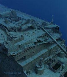 La prima esplorazione del relitto del Titanic avvenne il 1° settembre 1985 per opera di un team di oceanografi francesi coordinati da Robert Ballard.