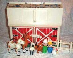 """I loved this toy! When you opened the barn door it went  """"MOOOOOOOO"""""""