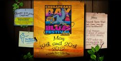 Chesapeake Bay Blues Festival.  Went several times but not in the last couple years!  Great and well known acts