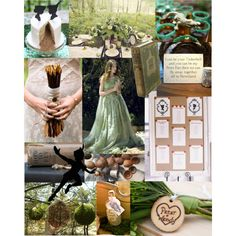 Peter Pan Wedding Inspiration by bellememorie, via Polyvore