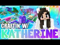💙Minecraft WATER PARK! Craftin' w/ Katherine Ep.44 - YouTube Rainbow Park, Rainbow Water, Minecraft Videos, Minecraft Houses, Cat Crying, Katherine Elizabeth, Water Playground, Kiddie Pool, Dog Accessories