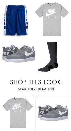 """""""Macrae ⚾️"""" by karis-huyser ❤ liked on Polyvore featuring NIKE, men's fashion and menswear"""
