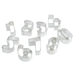 numbers & ABC cookie cutters for pancakes?
