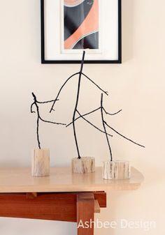 Dancing twigs