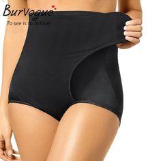 7344434ba2 Burvogue hot shapers Slimming Butt Lifter with tummy control Adjustable Waist  Body Shaper Pants Underwear Shaper Brief Shapewear