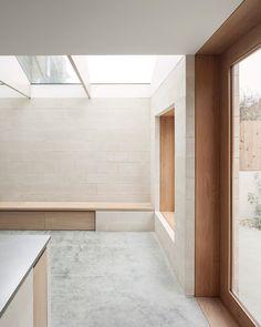 *2층 구조 추가로 영국 런던의 미니멀리스트 주택의 공간 확장-[ Al-Jawad Pike ] Private House in Peckham :: 5osA: [오사]