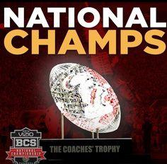 National Champions!! GO SEMINOLES!!! #seminolenation
