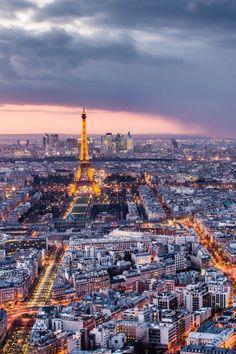 Paris Landscape ♥ Eiffel Tower by cheryl