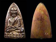 Moth, Buddha, Insects, Amulets, Image