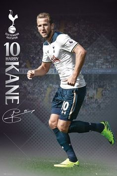 New Football posters at great prices. Get your Harry Kane poster laminated today! Football Soccer, Football Players, Soccer Fifa, Harry Kane Wallpapers, Messi, Tottenham Wallpaper, England Players, Tottenham Hotspur Football, White Hart Lane