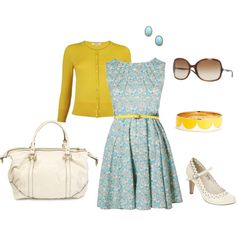 Love the color combo and love everything else about this outfit too!