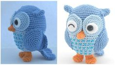Here today we have Amigurumi at pretty-ideas.com. If you like Owls and think these little cute owl will make your home interior pretty we have free pattern to you. You can also make adorable gift for your of for any child and make them happy. As you know high quality toys is cheap in markets and even it's high quality we don't know with what are they made, so with your hands you can crochet everything that will be good for your little angels. Owls in nature are in many different colors…
