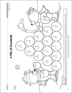Math Worksheets For First Grade To Print