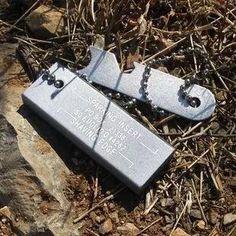 Glocke Outdoor Survival Ausrüstung Leuchtende Wasserdicht Magnesium Flint Wrack Mit Tony Sollt Ihr