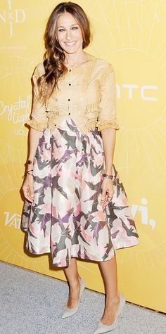 Look of the Day - April 26, 2014 - Sarah Jessica Parker in Alice + Olivia and Giles from #InStyle