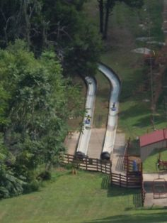 Located in popular Cave City, Kentucky Action Park offers the state's only alpine slide. The slide itself is a favorite among visitors, but it's only one of the many attractions this area offers. Vacation Places, Dream Vacations, Vacation Spots, Places To Travel, Vacation Ideas, Greece Vacation, Vacation Trips, Travel Destinations, Cave City Kentucky