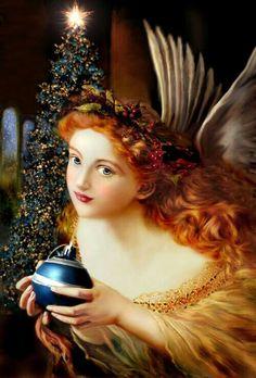 graphic Redheaded angel