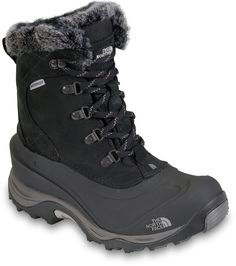 Northface black snow boot. I think I want higher though.
