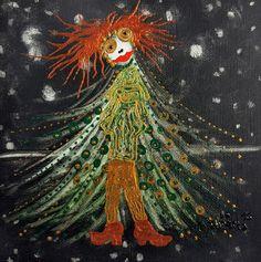 'CHRISTMAS TREE III' by marachowska on artflakes.com as poster or art print $19.61