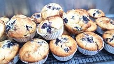 These Blueberry White Chocolate Muffins have been hugely popular and it's very easy to see why. Perfect with a cuppa, you''ll love this easy recipe. White Chocolate Muffins, White Chocolate Chips, Blue Berry Muffins, Cookies Policy, Quick Bread, Muffin Recipes, Healthy Snacks, Blueberry, Sweet Treats