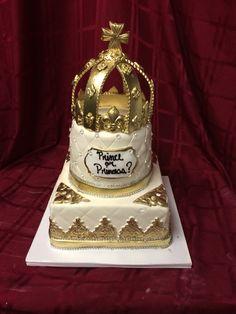 Gender reveal cake. Prince or princess?!
