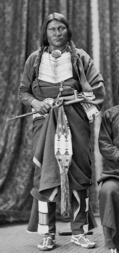 Crazy Bull, Arapaho. The Arapaho are a tribe of Native Americans historically living on the eastern plains of Colorado and Wyoming. They were close allies of the Cheyenne tribe and loosely aligned with the Sioux. Arapaho is an Algonquian language closely related to Gros Ventre, whose people are seen as an early offshoot of the Arapaho.