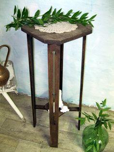 Vintage Hocker - Vintage Blumensäule
