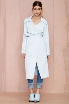Cameo Real Talk Trench Coat | Shop Clothes at Nasty Gal