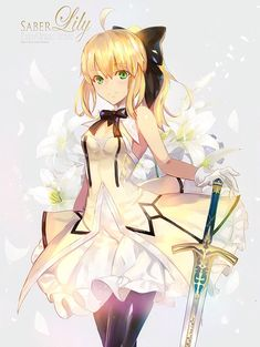 Saber Lily Fate Grand/order