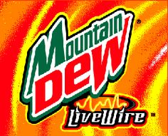 Live Wire Mountain Dew 24 fresh cans soda mtn dew livewire Mtn Dew Flavors, Best Soda, Bf Love, Orange Logo, Live Wire, Orange Aesthetic, Pepsi Cola, Mountain Dew, Canning