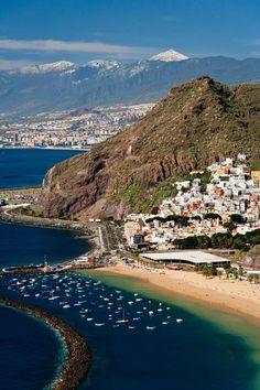 Tenerife in The Canary Islands...The Canary Islands are a Spanish archipelago located just off the northwest coast of mainland Africa, 62 miles west of the border between Morocco and the Western Sahara. The Canaries are one of Spain's 17 autonomous communities and are among the outermost region of the EU proper. The islands: Tenerife, Fuerteventura, Gran Canaria, Lanzarote, La Palma, La Gomera, El Hierro, La Graciosa, Alegranza, Isla de Lobos, Montaña Clara, Roque del Este and Roque del Oeste.