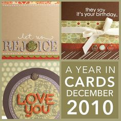 A Year in Cards – December 2010