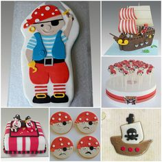 Pirates Collage by Gellyscakes, via Flickr