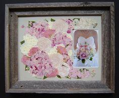 Floral Preservation ~ Pressed Flower Art ~ Soft Romantic Bridal Bouquet! ~ Annie Fentz Smith ~ Pressed Garden ~ www.pressedgarden.com