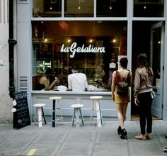 One of the best gelaterias in London