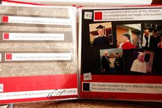 """Make a """"things we love about you"""" scrapbook. Enlist the help of other family members too. What a great thoughtful present for a birthday, anniversary, or other special day"""