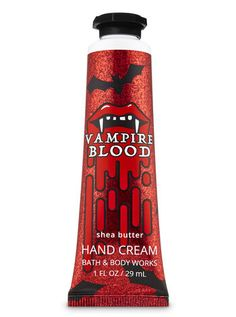 Vampire Blood Hand Cream by Bath & Body Works Bath N Body Works, Bath And Body, Cream Baths, Fall Scents, Fragrance Mist, Body Lotions, Hand Cream, Body Spray, Toe Nails