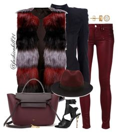 """Dope"" by fashionkill21 ❤ liked on Polyvore featuring Paige Denim, Balmain, Lipsy and Forever 21"