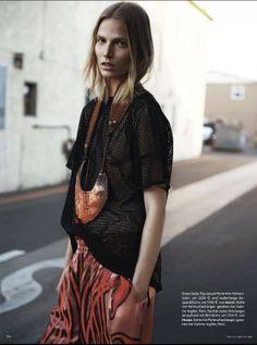 nice Vogue Alemanha Fevereiro 2014 | Suvi Koponen por Knoepfel & Indlekofer  [Editorial]