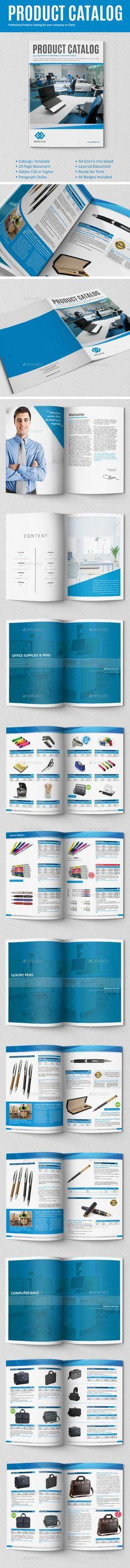 Module Product Catalog Print templates, Brochures and Brochure - product brochures