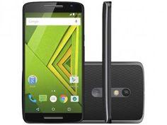 "Smartphone Motorola Moto X Play 32GB Preto - Dual Chip 4G Câm. 21MP + Selfie 5MP Tela 5.5""  R$ 1.649,90"