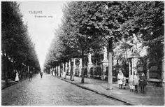 Het kerkhof aan de Bredaseweg in vroeger tijden